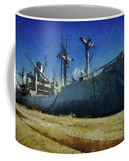 Ss Lane Victory Coffee Mug by Joseph Hollingsworth