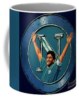 Ssc Napoli Painting Coffee Mug