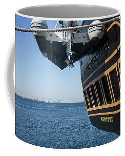 Ssv Oliver Hazard Perry Close Up Coffee Mug by Nancy De Flon
