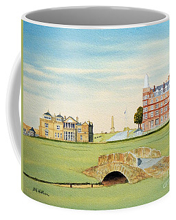 St Andrews Golf Course Scotland - Royal And Ancient Coffee Mug