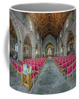 Coffee Mug featuring the photograph St Asaph Cathedral by Ian Mitchell