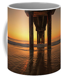 St Augustine Beach Pier Morning Light Coffee Mug