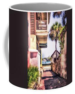 St Augustine, Fl Deco Alley Coffee Mug