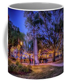 St Augustine Plaza Christmas Coffee Mug
