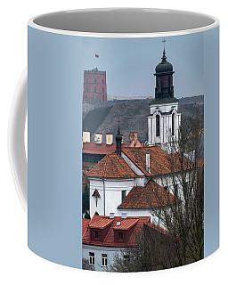 St Bartholomew And Vilnius Castle Coffee Mug