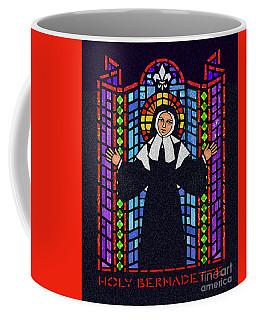 St. Bernadette Of Lourdes - Window - Dpbew Coffee Mug