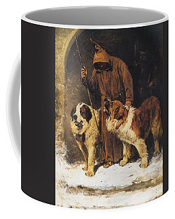 St. Bernards To The Rescue Coffee Mug by John Emms