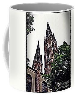 St Boniface Church Towers   Coffee Mug by Sarah Loft