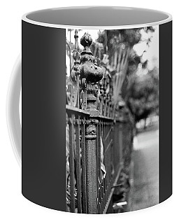 St. Charles Ave Wrought Iron Fence Coffee Mug