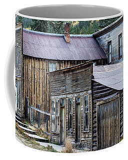 Coffee Mug featuring the photograph St. Elmo A Colorado Ghost Town by Nadja Rider