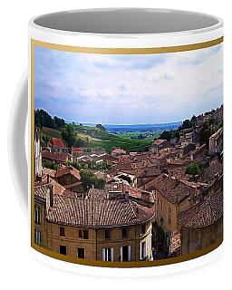 Coffee Mug featuring the photograph St. Emilion View by Joan  Minchak