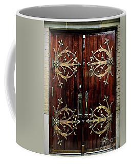 St Francis De Sales Oratory Wood Door St Louis Coffee Mug