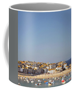 Coffee Mug featuring the photograph St Ives Harbour by Lyn Randle