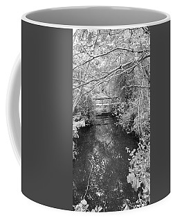 Coffee Mug featuring the photograph St James Water Bw by Rob Hans