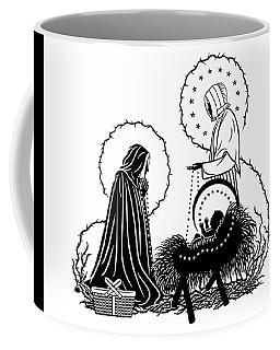 St. Jeanne Jugan And Infant Jesus Coffee Mug