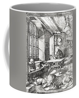 St Jerome In His Study Coffee Mug