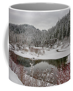 St. Joe Trestle Winter Coffee Mug