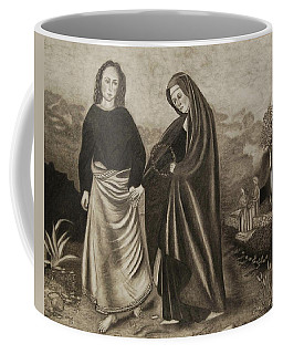 St. John And Blessed Mother At The Tomb Coffee Mug