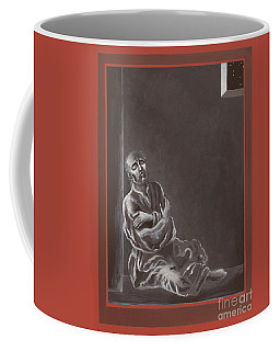 Coffee Mug featuring the painting  St John Of The Cross In The Dark Night Of The Soul 290 by William Hart McNichols