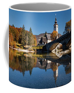 St. John The Baptist On The Lake Bohinj Coffee Mug
