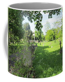 Coffee Mug featuring the photograph St. Johns Parish Church Cemetery - Harrow Road - Wembley by Mudiama Kammoh