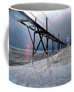 St. Joseph Lighthouse Winter Coffee Mug