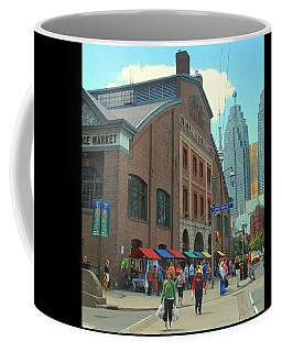 Coffee Mug featuring the photograph St Lawrence Market by Ian  MacDonald