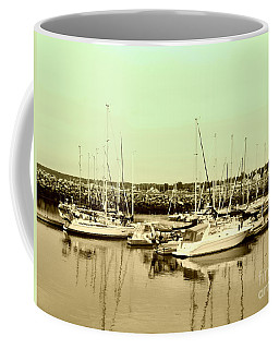 St. Lawrence Seaway Marina Coffee Mug by Susan Lafleur