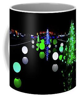 St Louis Botanical Gardens Christmas Lights Study 1 Coffee Mug
