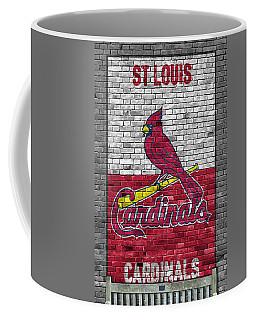 St Louis Cardinals Brick Wall Coffee Mug