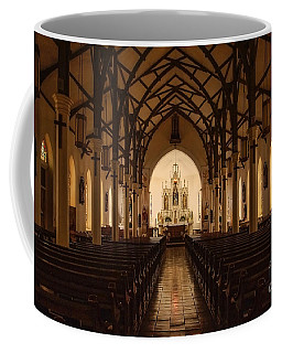 St. Louis Catholic Church Of Castroville Texas Coffee Mug
