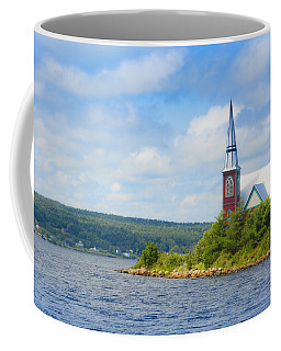 St Marks In Middle Lahave Nova Scotia Coffee Mug by Ken Morris