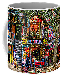 Coffee Mug featuring the photograph St Marks Place by Chris Lord