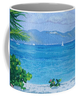 St Martin From Anguilla Coffee Mug
