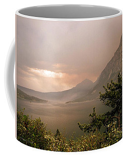 St Mary Lake In The Smoke Coffee Mug