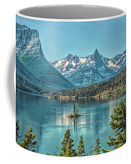 St Mary Lake Coffee Mug