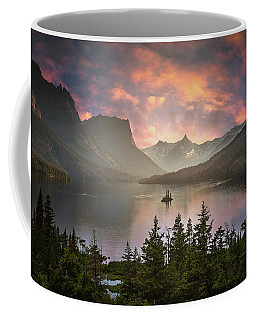 Coffee Mug featuring the photograph St Mary Lake  by William Lee