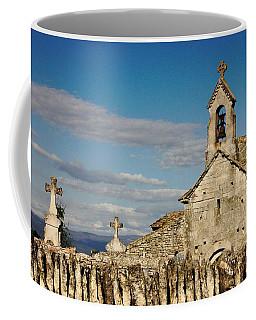 St. Pantaleon Church,  Luberon, France Coffee Mug