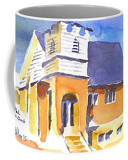Coffee Mug featuring the painting St Paul Lutheran 3 by Kip DeVore