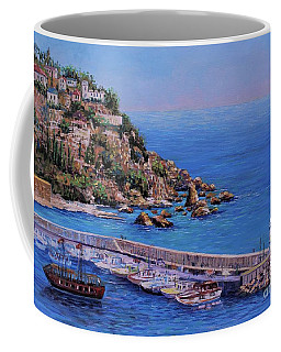 St Pauls Harbor Coffee Mug by Lou Ann Bagnall