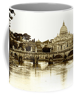 Coffee Mug featuring the photograph St. Peters Basilica by Mircea Costina Photography