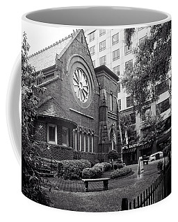 St. Peter's Episcopal Church In Black And White Coffee Mug