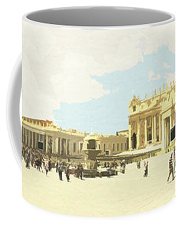 St. Peter's Square The Vatican Coffee Mug