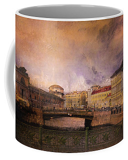 Coffee Mug featuring the photograph St Petersburg Canal by Jeff Burgess