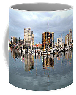 St Petersburg Marina Coffee Mug