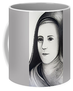 St. Therese Of Lisieux Coffee Mug by Mary Ellen Frazee