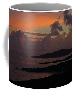 St Thomas Sunset At The U.s. Virgin Islands Coffee Mug by Jetson Nguyen