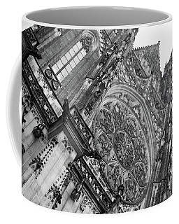 Coffee Mug featuring the photograph St. Vitus Cathedral 1 by Matthew Wolf