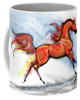 Staceys Arabian Horse Coffee Mug