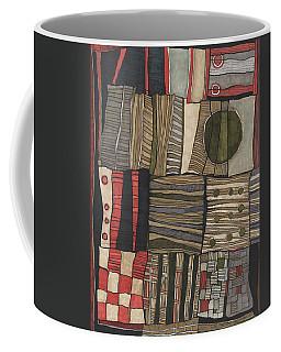 Stacked Shapes Coffee Mug by Sandra Church